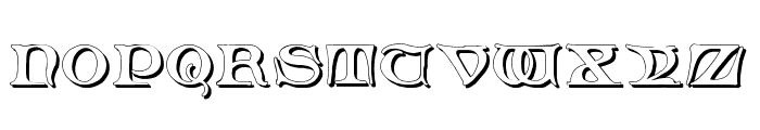 Fabliaux Shadow Font LOWERCASE