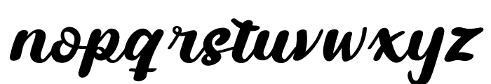 Fabrik Personal Use Font LOWERCASE