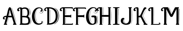Fabula Font UPPERCASE