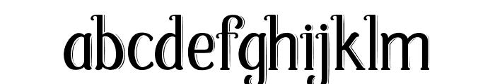 Fabula Font LOWERCASE