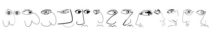 FaceToFace Font UPPERCASE