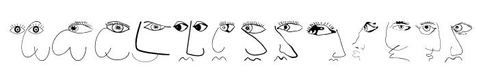 FaceToFace Font LOWERCASE