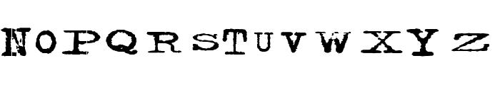 Facelift Font UPPERCASE