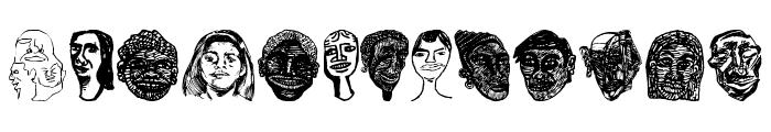 Faces Plain Font UPPERCASE