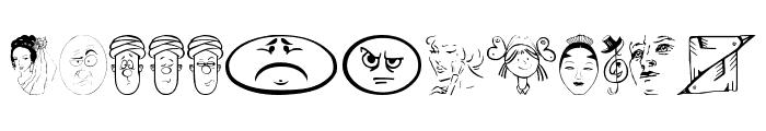 Faces2Faces Font LOWERCASE