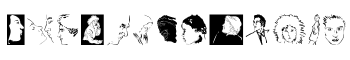 Faces Font LOWERCASE