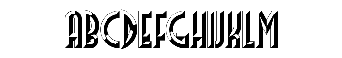 FacetsNF Font UPPERCASE