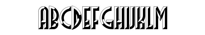 FacetsNF Font LOWERCASE