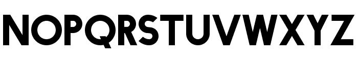 FacileSans Font UPPERCASE