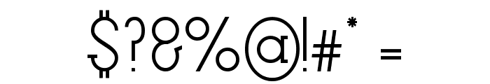 Factory LJDS Font OTHER CHARS