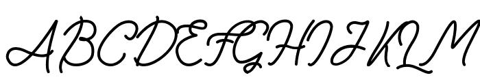 FadScript Font UPPERCASE