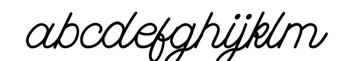 FadScript Font LOWERCASE