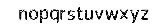 Fada Font LOWERCASE
