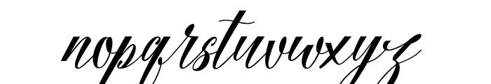 Fadhil free Font LOWERCASE