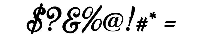 Fadli Script Font OTHER CHARS