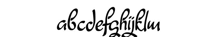 Fagyth Demo Font LOWERCASE