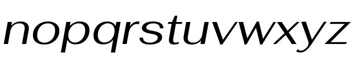 Fahkwang Italic Font LOWERCASE