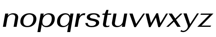 Fahkwang Medium Italic Font LOWERCASE