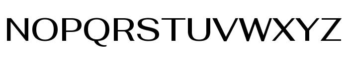 Fahkwang Medium Font UPPERCASE