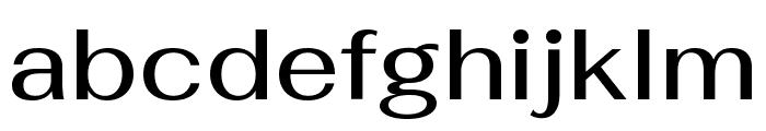 Fahkwang Medium Font LOWERCASE