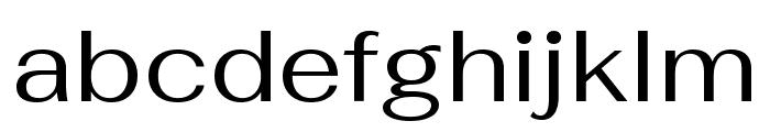 Fahkwang Regular Font LOWERCASE