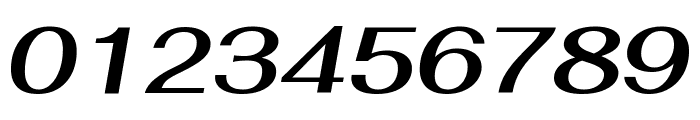 Fahkwang SemiBold Italic Font OTHER CHARS