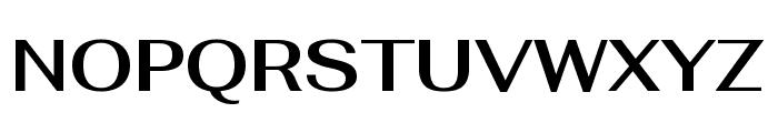 Fahkwang SemiBold Font UPPERCASE