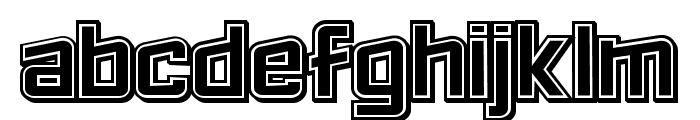 Failed 3d Filled Regular Font UPPERCASE