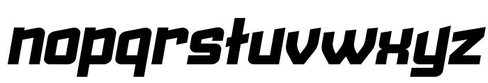 Failed Italic Font LOWERCASE