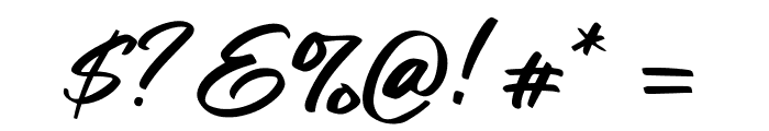 Fair Prosper Font OTHER CHARS