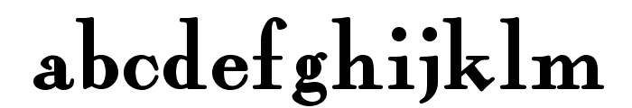 Fairfax Station NF Font LOWERCASE