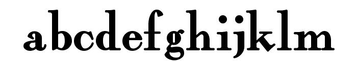 FairfaxStation Font LOWERCASE
