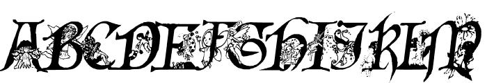 Fairies Gone Wild Italics Font UPPERCASE