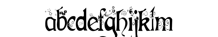 Fairies Gone Wild Font LOWERCASE