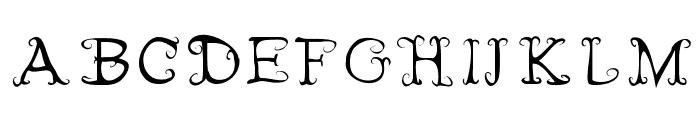 Fairies Wear Boots Font UPPERCASE