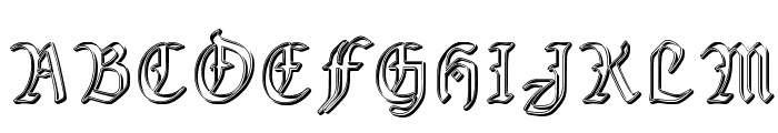 Fairland_groove Font UPPERCASE