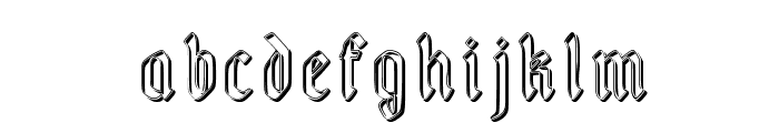 Fairland_groove Font LOWERCASE