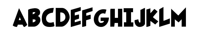 Fairly OddFont Font UPPERCASE