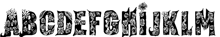 Fairy Tale Regular Font UPPERCASE