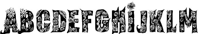 Fairy Tale Regular Font LOWERCASE