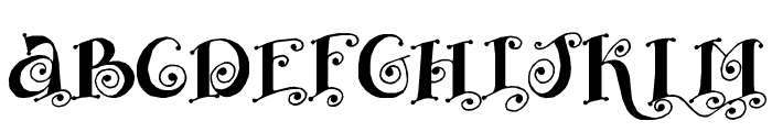 Fairy Tale Font UPPERCASE