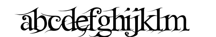 FairydustB Font LOWERCASE