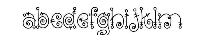 Fairytale Font LOWERCASE