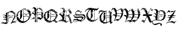 Faith Collapsing Font UPPERCASE