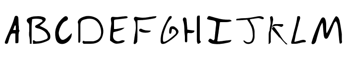 Fake Boyfriend  Regular Font UPPERCASE