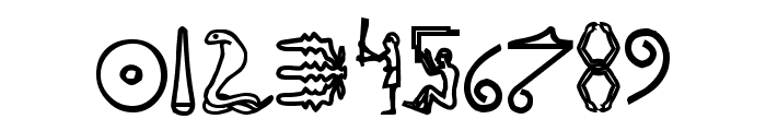 FakeHieroglyphs Font OTHER CHARS