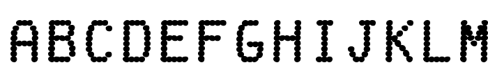 FakeReceipt-Regular Font LOWERCASE