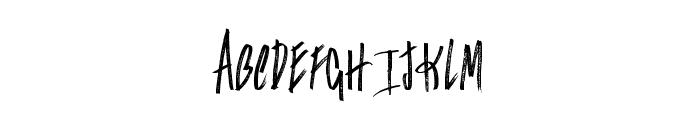 Falconers Font UPPERCASE
