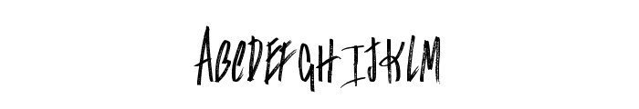 Falconers Font LOWERCASE