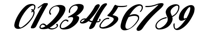 Falencia Italic Font OTHER CHARS
